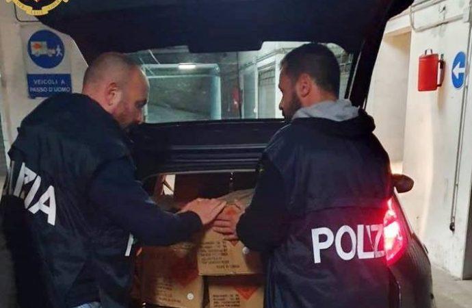 Taranto, maxi sequestro di fuochi artificiali illegali