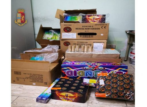 Taranto, botti illegali: un arresto e sequestro di materiale esplodente
