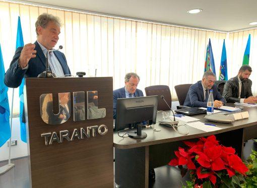 """Ex Ilva, per la Uil di Taranto """"la presenza dello Stato è necessaria"""" [VIDEO]"""