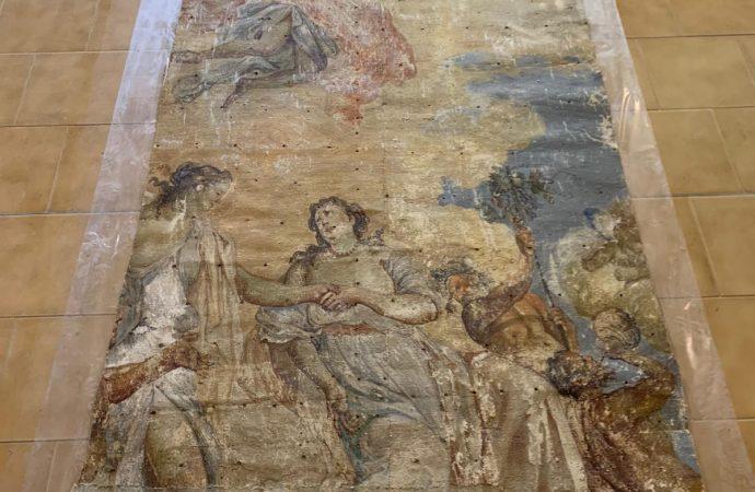 Carella e i suoi dipinti, operazione recupero