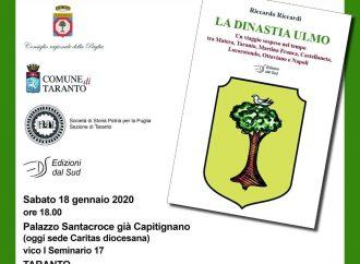 """""""La dinastia Ulmo"""", presentazione nella città vecchia di Taranto"""