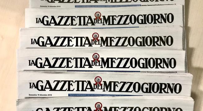 Gazzetta del Mezzogiorno, i giornalisti rilanciano l'allarme chiusura