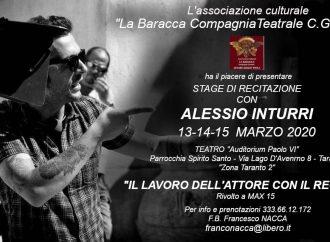 A Taranto una masterclass con il regista Alessio Inturri