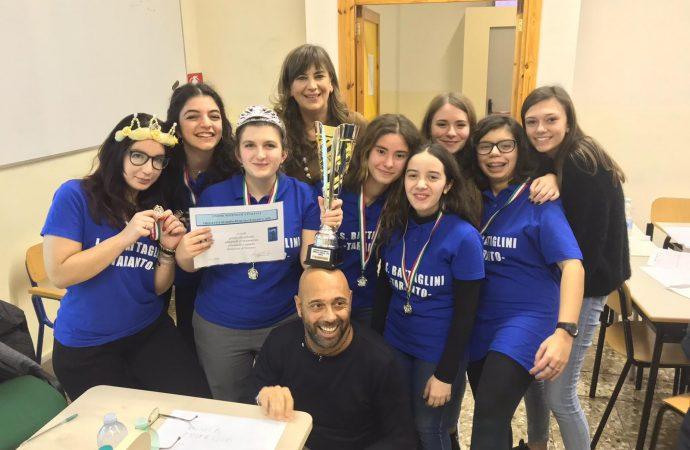 Le ragazze del Battaglini di Taranto primeggiano alle Olimpiadi di Matematica