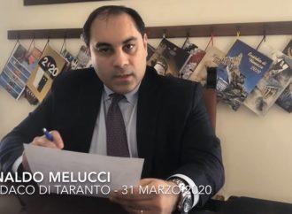 Buoni spesa da 30 e 50 euro, il sindaco di Taranto spiega le misure a sostegno delle famiglie (video)