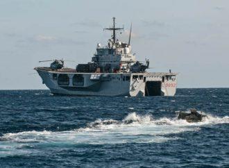 Due militari positivi al covid-19. Erano stati a bordo delle navi S. Giusto e S. Giorgio