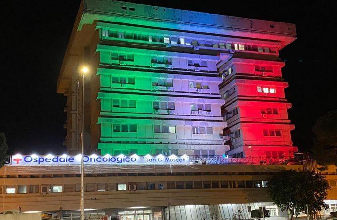 Taranto,  un decesso al Moscati. La situazione nell'ospedale covid