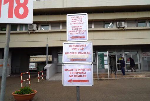 Covid, aggiornamento Asl su ricoveri e decessi in provincia di Taranto
