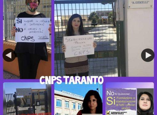 Taranto, i precari chiedono rispetto per la Scuola e… lavoro
