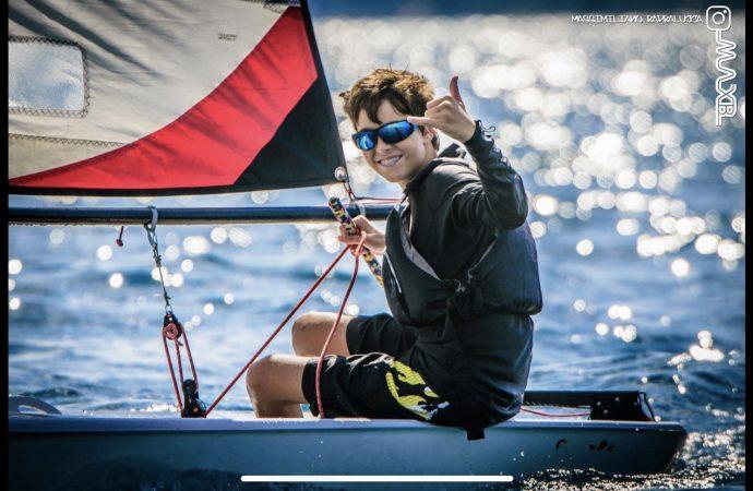 Giovane talento tarantino della vela inserito tra gli atleti di interesse nazionale