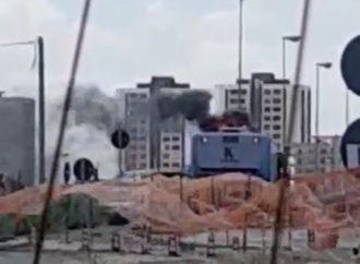 Taranto, a fuoco bus dell'Amat