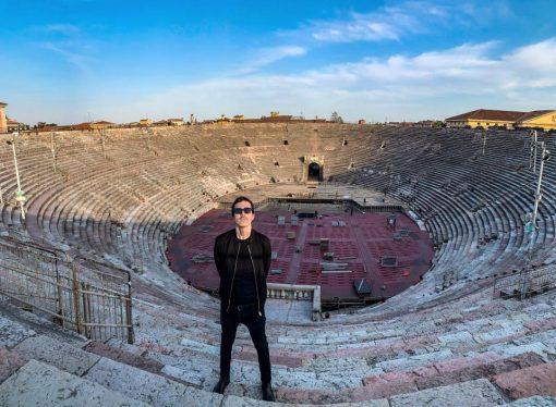 Diodato canta dall'Arena, Eurovision Song contest 2020 rispetta le distanze