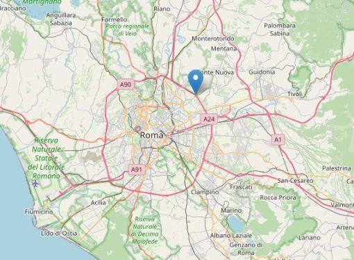 Terremoto in provincia di Roma, paura nella capitale