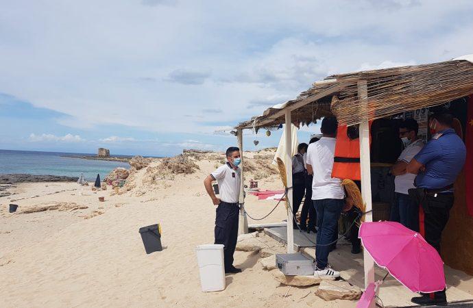 Marina di Taranto, sequestrato chioschetto sulla spiaggia
