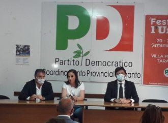 Taranto, Oddati rimette in moto il Pd: le proposte