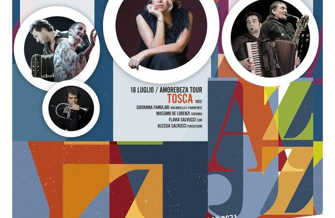 Taranto Jazz Festival, Tosca alla prima edizione