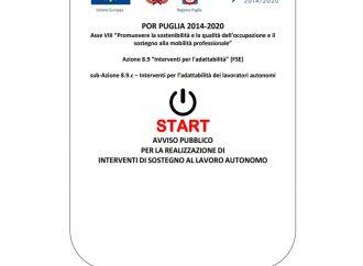 Start Puglia, al via i pagamenti per le partite Iva aventi diritto