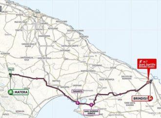 Giro d'Italia, la tappa del 9 ottobre attraversa la provincia di Taranto