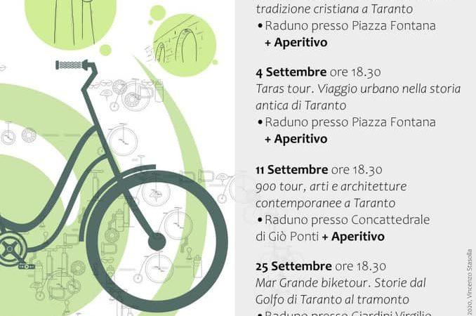 BIKES, esplorazioni urbane in bicicletta per scoprire le bellezze di Taranto