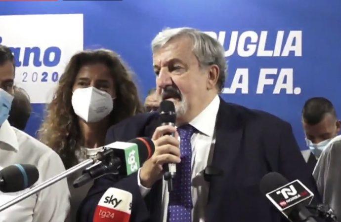 Emiliano si conferma presidente della Puglia