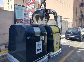 Taranto, ecco i primi cassonetti ingegnerizzati per la differenziata