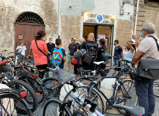 """Venerdì seconda tappa di BIKES, viaggio urbano nella storia antica di Taranto <span class=""""dashicons dashicons-calendar""""></span>"""
