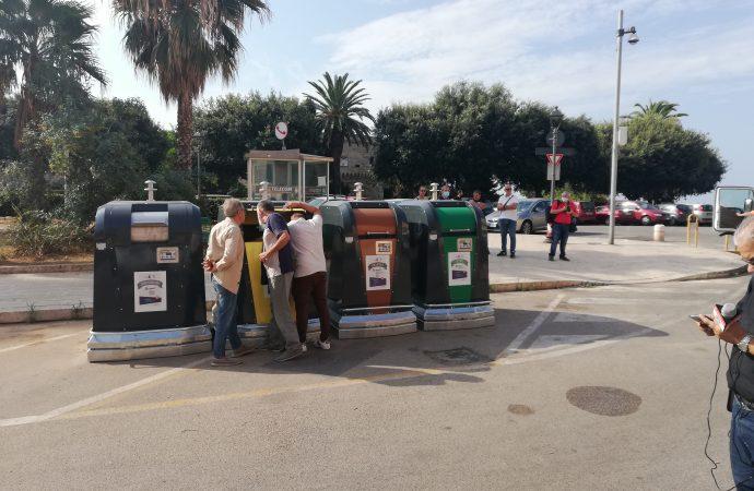 Taranto, altre 2 mini isole ecologiche ingegnerizzate  in Città Vecchia