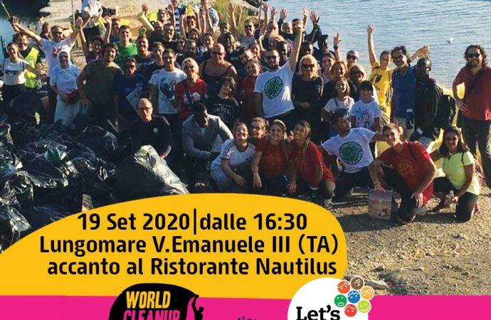 Plasticaqquà invita tutti al Lungomare di Taranto per il World Cleanup Day
