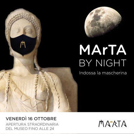 """""""MArTA By Night"""", a Taranto il covid si combatte anche con la cultura"""