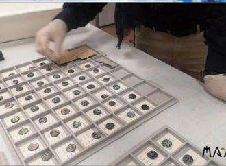 211 monete della zecca tarentina, al MarTA riecco il tesoretto di Specchia