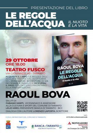 Raoul Bova presenta il suo libro a Taranto