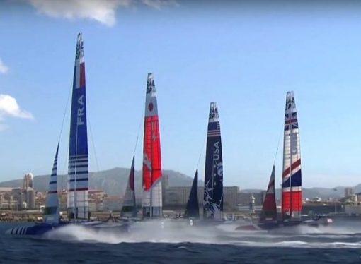 Vela, a Taranto una tappa del circuito SailGp. Catamarani in gara in Mar Grande