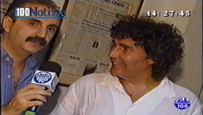 Quella mattina, nella sede del Corriere, per rispondere alla telefonate dei fans tarantini (video)