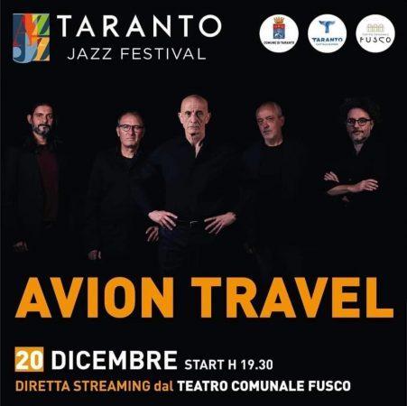 Avion Travel, concerto in streaming dal Fusco di Taranto