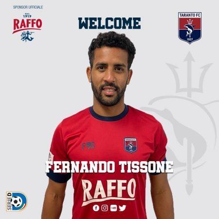 Tissone è un calciatore rossoblu, colpo del Taranto a centrocampo