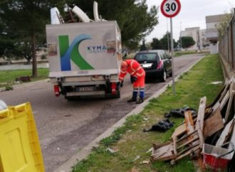 Taranto, abbandono rifiuti ingombranti. Cattiva abitudine difficile da debellare
