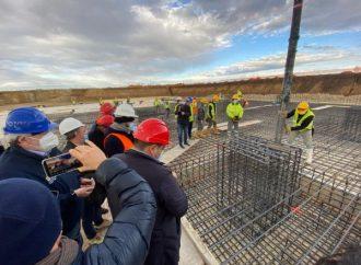 San Cataldo, prima colata di cemento per il nuovo ospedale tarantino