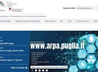 Arpa Puglia, segnalazioni in tempo reale sul nuovo sito