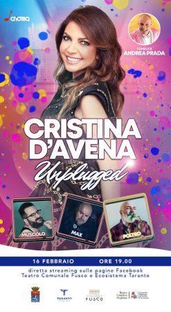 Cristina d'Avena, carnevale  on line con il Fusco di Taranto