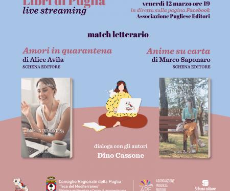 Libri di Puglia, match letterario tra romanzi