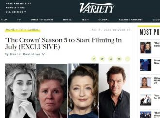 """Serie Tv, nuovo cast per """"The Crown"""". A luglio il ciak per la quinta stagione"""