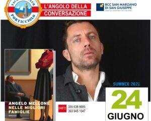 """""""L'Angolo della Conversazione"""", Mellone presenta il suo romanzo allo Yachting Club di Taranto <span class=""""dashicons dashicons-calendar""""></span>"""