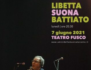 """Taranto, l'omaggio a Battiato di """"Amici della Musica"""" <span class=""""dashicons dashicons-calendar""""></span>"""