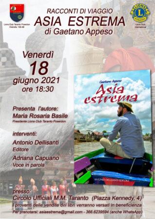 Asia Estrema, il nuovo libro di Gaetano Appeso