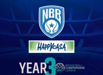 Basket, Brindisi per la terza volta in Fiba Champions League