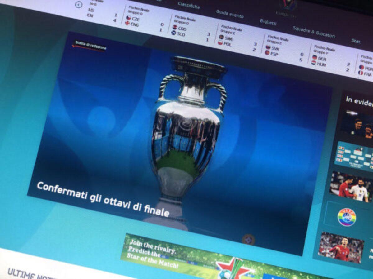 Europei calcio, il programma degli ottavi e i possibili incroci nei quarti di  finale - la Ringhiera
