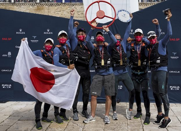 Il team giapponese vince il SailGP Italy di Taranto