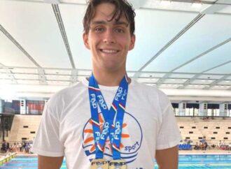 Nuoto, il tarantino Marco D'Aniello conquista il titolo italiano Finp nei 100 delfino