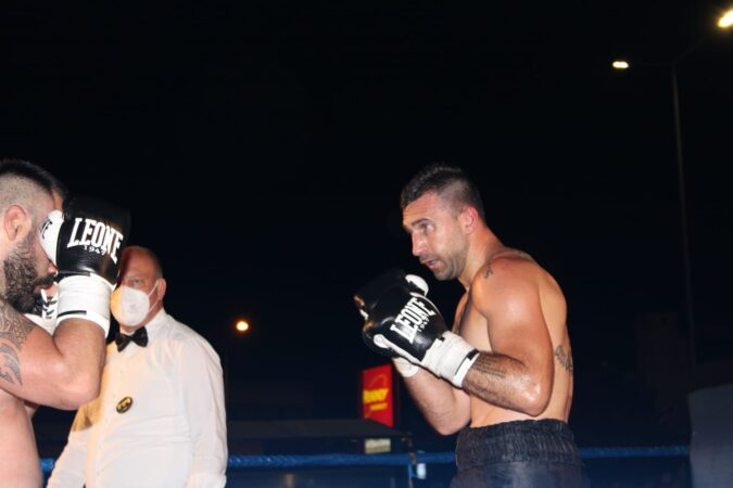 Mottola, la boxe torna tra il pubblico