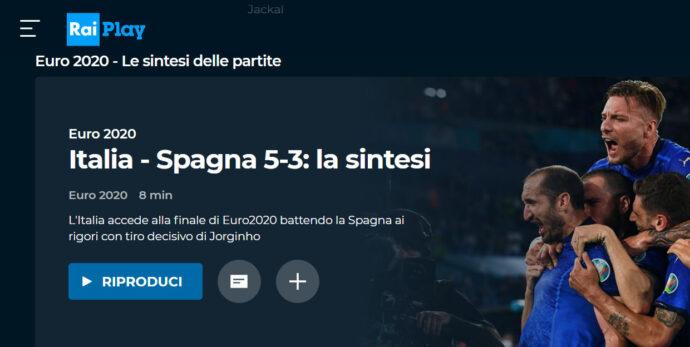 Azzurri in finale, Inghilterra o Danimarca? La sintesi della vittoria sulla Spagna: in 20 milioni davanti alla tv